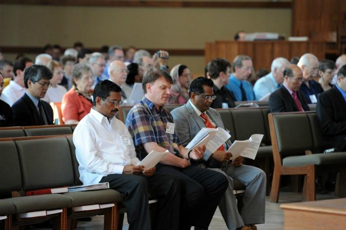 closing worship service