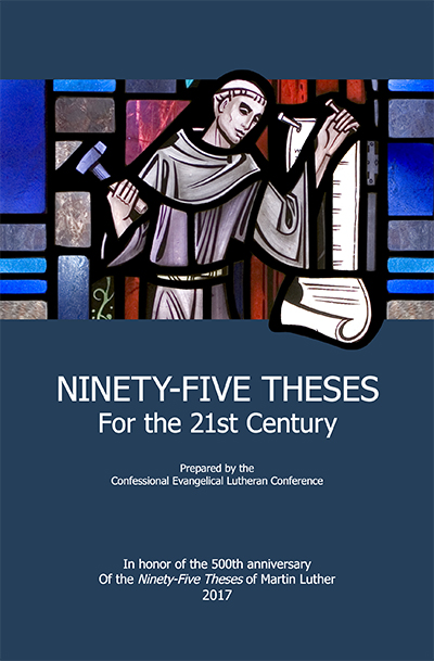 ninety five theses If you havin church problems then dont blame god, son i got ninety-five theses but the pope aint one verse 1 listen up, all my people, its a story for the t.
